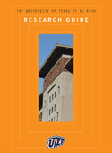 UTEP 2009 Research Guide